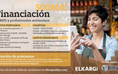 EL GOBIERNO VASCO APRUEBA 250 M/€ DE LA NUEVA LÍNEA DE FINANCIACIÓN PARA PYMES Y AUTÓNOMOS
